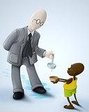 Loss humanitarian aid