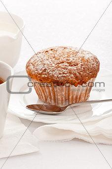cake on white dish
