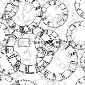 clock seamless