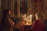 Women Pray At Easter