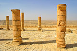 Ruins of town of Avdat in Israel.