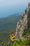 Cable car in Crimea