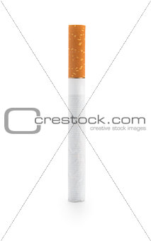 One Cigarette, isolated on white background