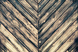 Texture of burned wood planks