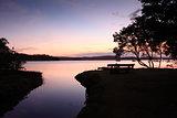 Sunset Silhouette Kincumber Australia