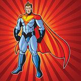Super human man