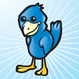 Vector Blue Bird