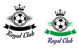 Royal football or soccer club symbol
