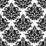 Retro damask seamless pattern
