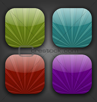 Abstract colorful backgrounds with rays