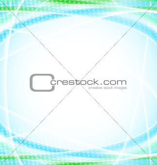 Abstract blue background for your design template