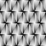 Design seamless diamond trellised pattern