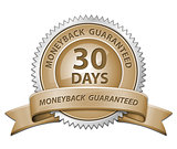 30 Day Money Back Sign