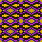 Seamless decorative pattern with rhombus