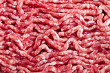 fresh raw minced meat