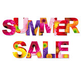 Colorful Summer Sale Poster