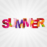 Color Gerbers Summer Banner