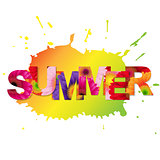 Color Gerbers Summer Poster