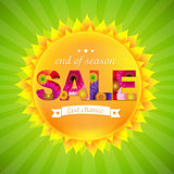Sunburst Sale Background