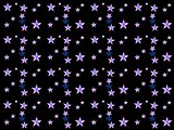 Abstraction background with a stars
