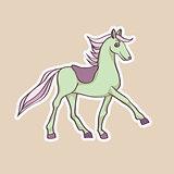 baby horse sticker