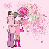 valentine s day fireworks