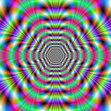 Octagonal Neon Rings