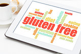 gluten free cooking word cloud