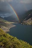Rainbows, Llanberis pass.