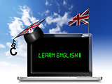 Learn English - Laptop Computer