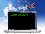 Learn English Laptop Computer