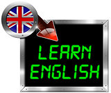Learn English - Metal Billboard
