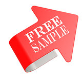 Free sample twist label