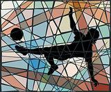 Kick mosaic