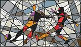 Soccer mosaic