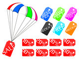 Parachute price tag