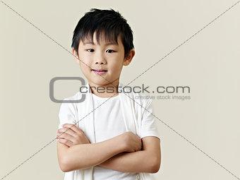 little asian boy