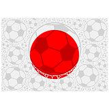 Japan soccer balls