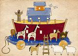 Vintage Kid's Noah's Ark