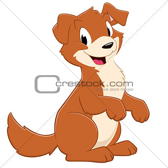 Cartoon Puppy Dog