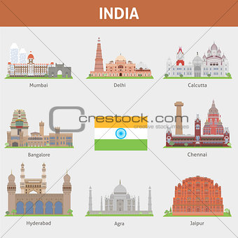 Cities of India