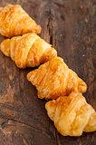 fresh croissant french brioche
