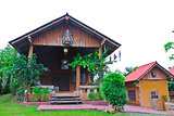 Bungalow on countryside style at northern of Thailand