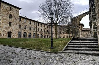 Monastery yard