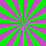 Pink and Green Sun Beams