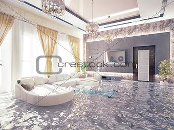 flooding  interior