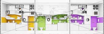 apartment building structure