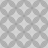 Seamless geometric circles pattern.