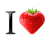 I love strawberry