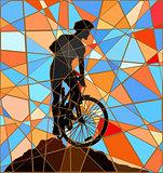 Ridge rider mosaic